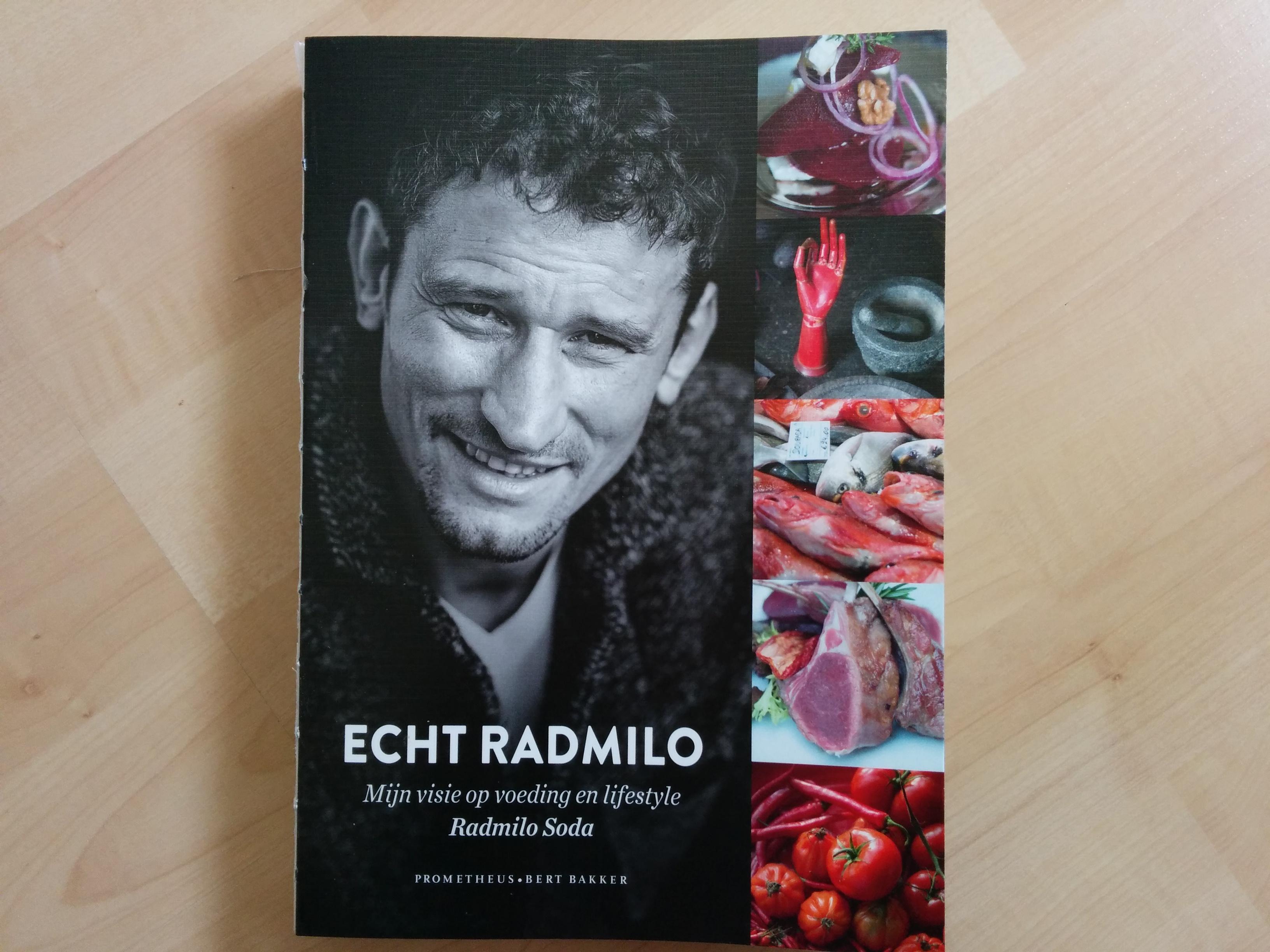 Echt Radmilo boek